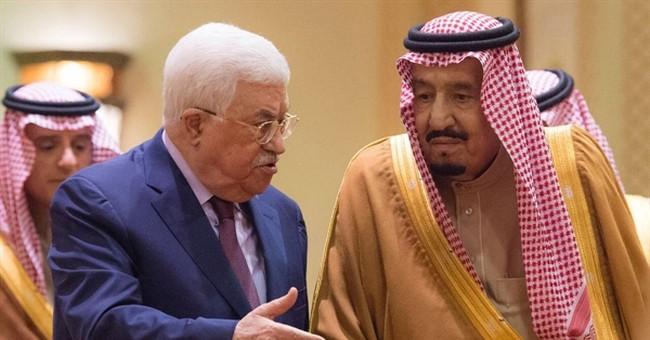 King tells Palestinians Saudi Arabia backs Jerusalem claim