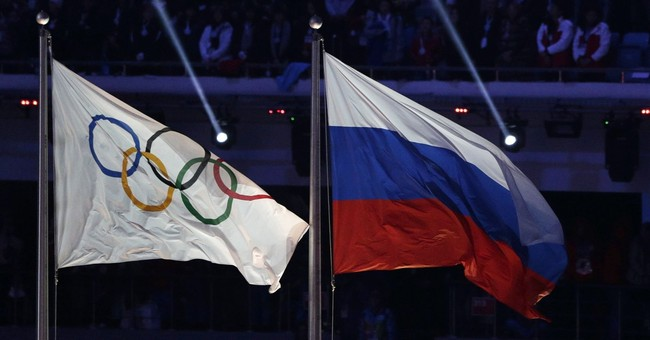 The word 'Russia' to appear on Olympic uniforms