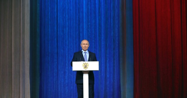 Russian spy agencies prevented 60 terror attacks, Putin says