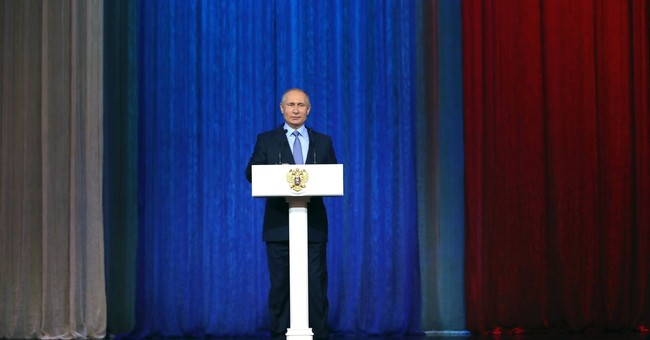Russian spy agencies prevented 60 terror attacks, Putin says