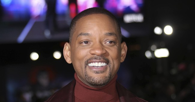 What makes Will Smith's world 'Bright' _ money, he jokes