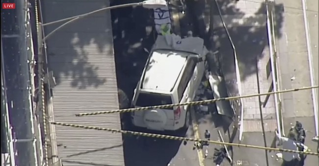 Police still checking terror link to Melbourne car ramming