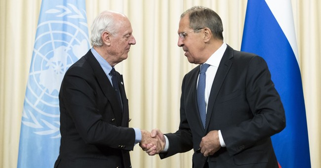 After last Geneva round, UN Syria envoy seeks Russia's help