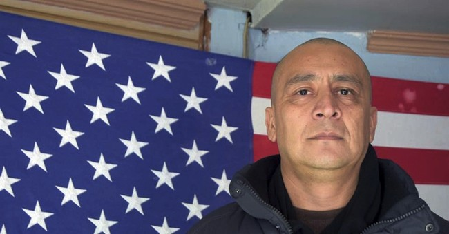 Deported ex-Marine speechless after return to US