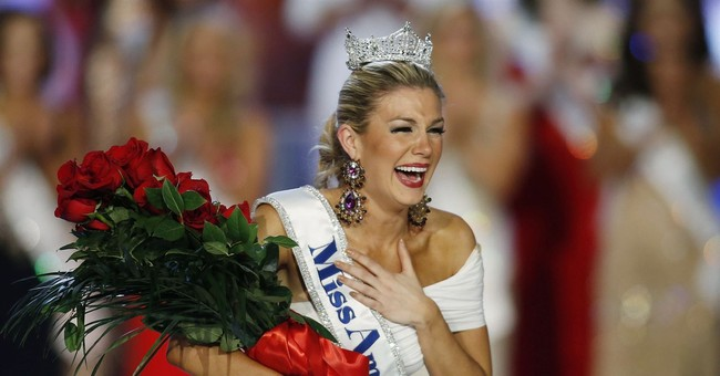 The Latest: Ex-Miss America chair: I was 'unjustly vilified'