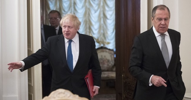 Johnson on first Moscow visit by UK top diplomat in 5 years