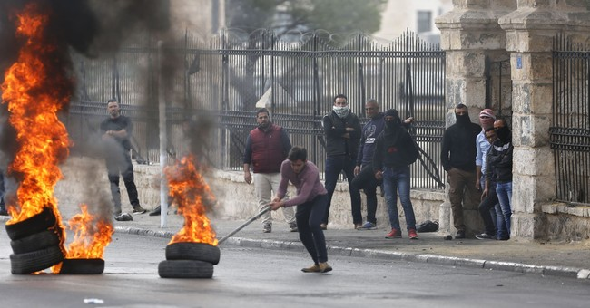 2 Palestinians killed in clashes over Jerusalem status