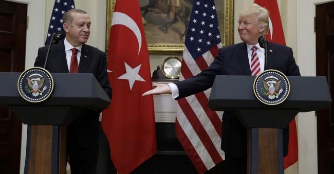 Erdogan promotes Turkey as unfettered, independent power