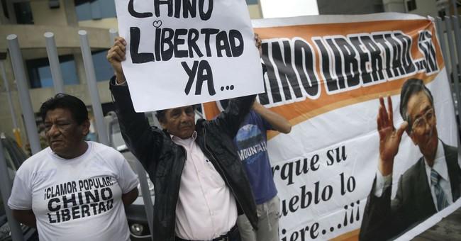 Peru's jailed ex-president Fujimori taken to hospital