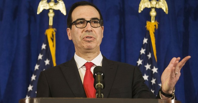 Box of horse manure addressed to US treasury secretary