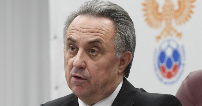Mutko steps down as president of Russian Football Union