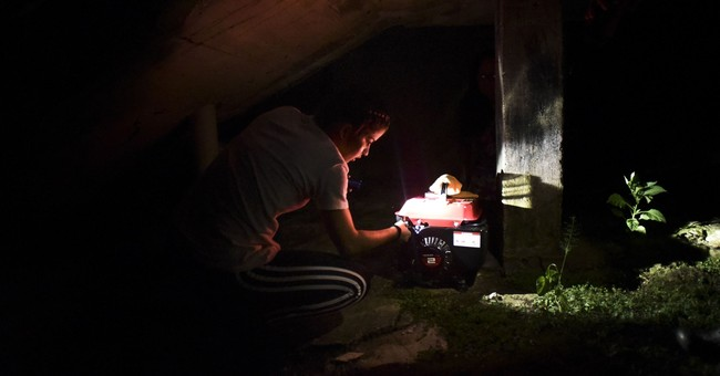 Dark, desperate life without power in Puerto Rico