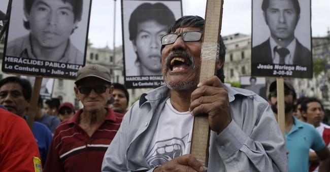 Former Peruvian president apologizes following pardon