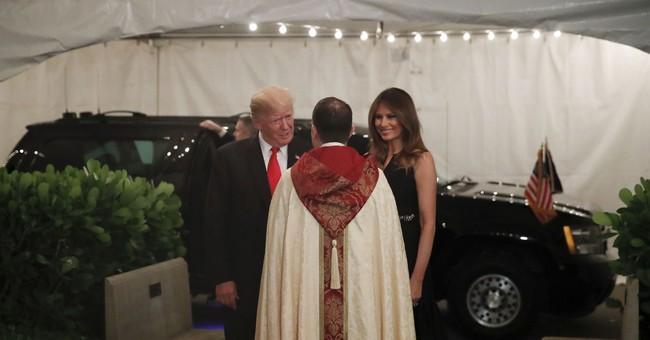 Trump celebrates Christmas like most of America, with family