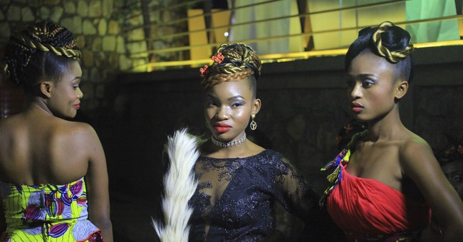Rare fashion show gives hope in violent eastern Congo