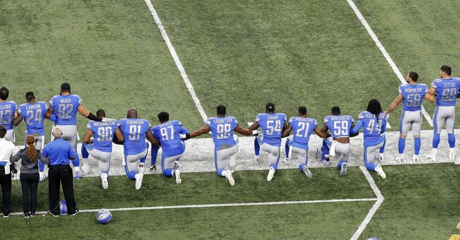 NFL protests named top sports story of 2017