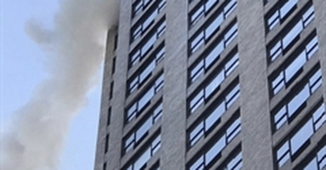 Man, 76, dies in New York high-rise apartment building fire