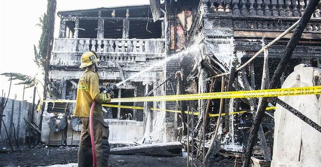 Restaurant owner vows to continue charitable work after fire