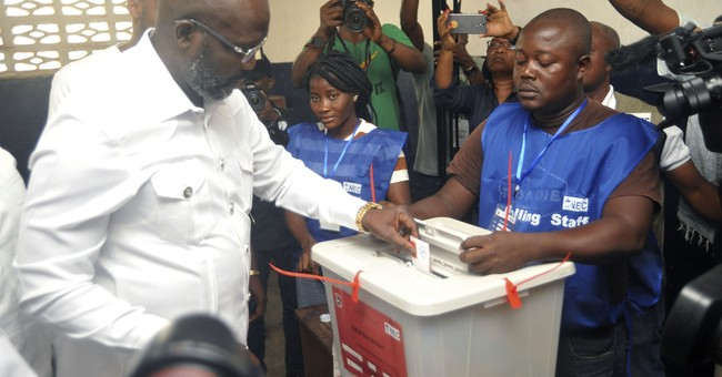 Liberia commission still tallying votes for runoff election