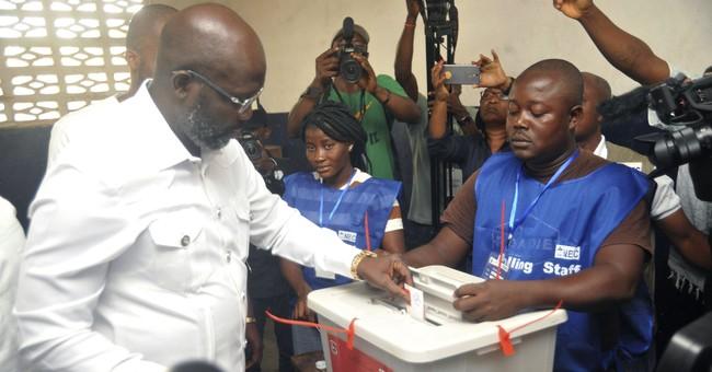 Soccer star Weah poised to win Liberia's presidency