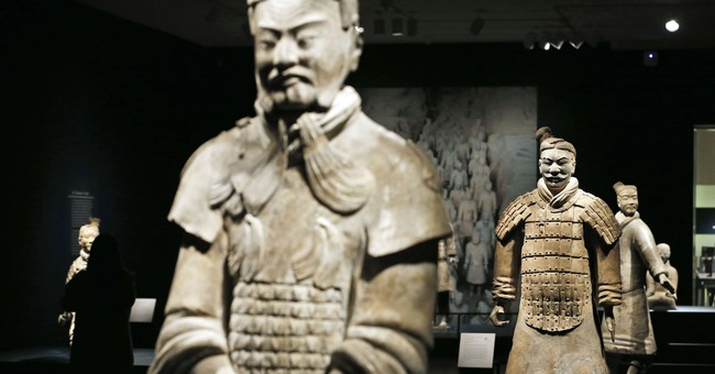 Exhibit explores the history of China's first emperor
