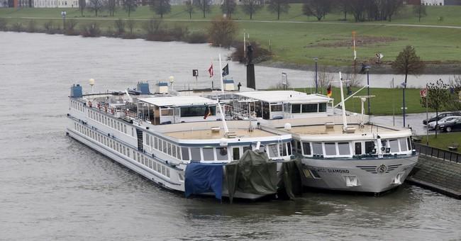 Tourist ship strikes highway bridge in Germany; 25 hurt