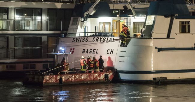 Tourist ship strikes highway bridge in Germany; 25 hurt