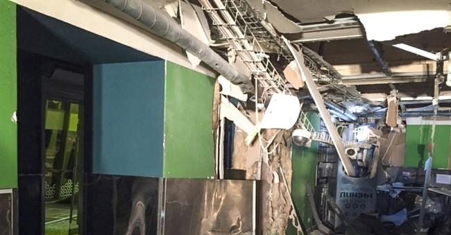 Russian security agency arrests supermarket bombing suspect