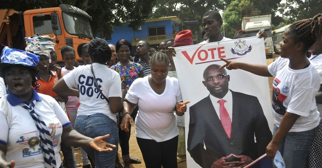 Ex-soccer star Weah elected Liberia president by wide margin