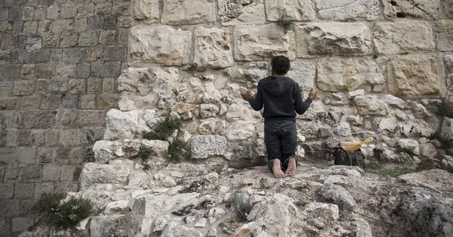 AP PHOTOS: Jerusalem walls offer glimpse of city's richness