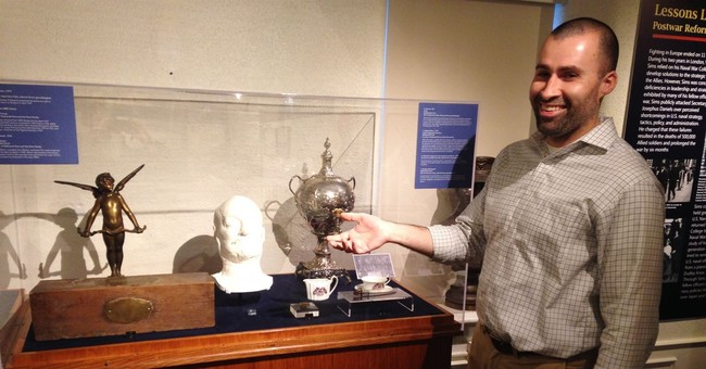 Naval War College Museum unveils exhibit to teach about WWI