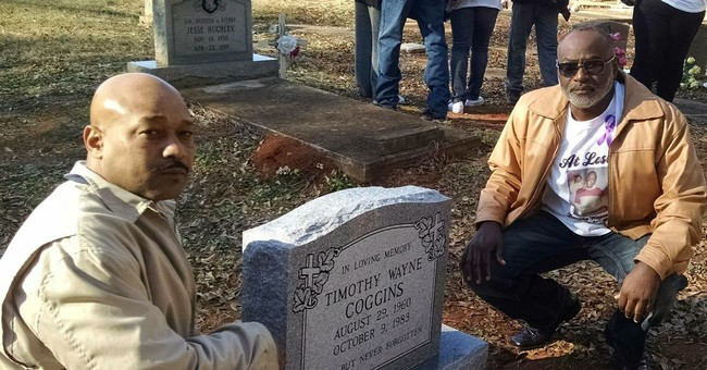 Grave of slain man finally gets headstone, decades later