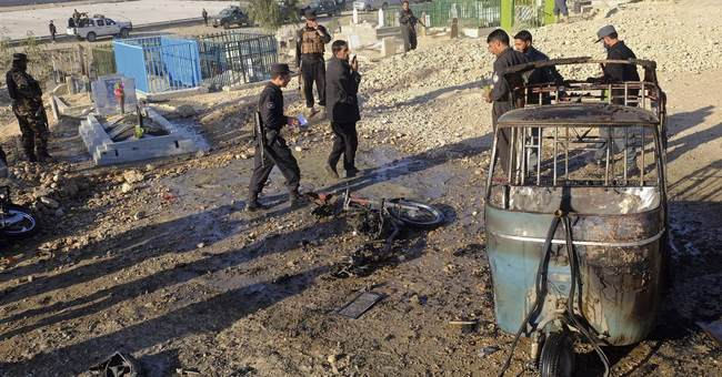 Bombing at funeral for Afghan official kills 17