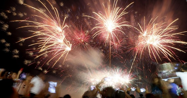 AP PHOTOS: New Year's Eve observances around the world