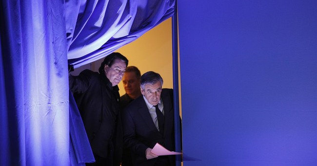 The Latest: French candidate Fillon says he's 'honest'