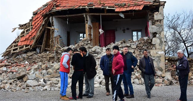 Turkey hit by 2 magnitude 5.3 quakes; 11 villages damaged