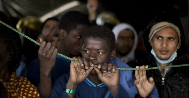 The Latest: 500 migrants on way to Europe rescued off Libya