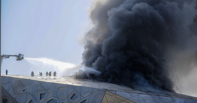 Fire breaks out at Kuwait's new performing arts center