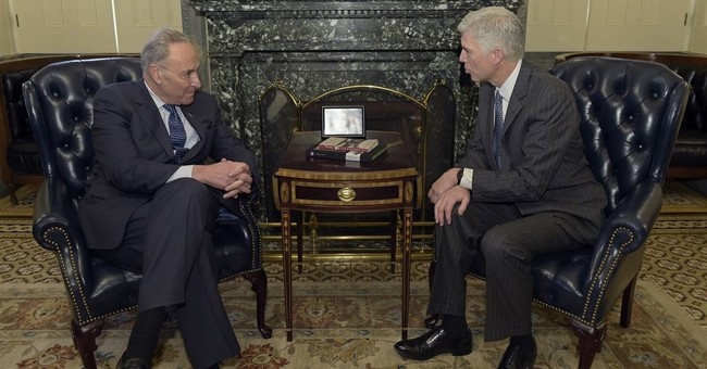 Schumer says he has 'serious concerns' about Gorsuch