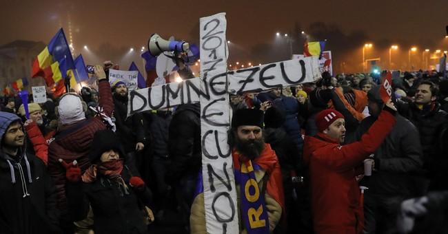 Romanian government seeks loophole on corruption
