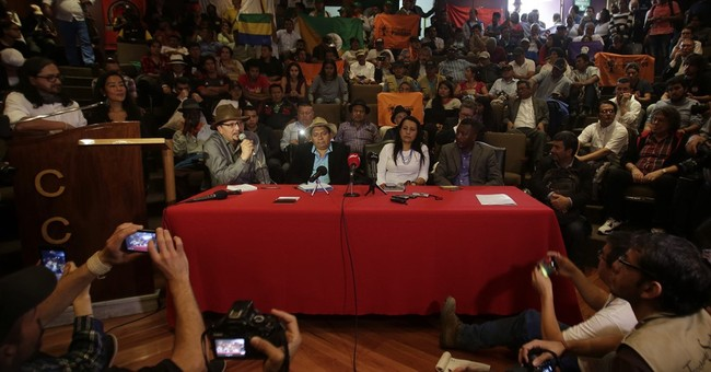 Colombia begins formal peace talks with No. 2 rebel group