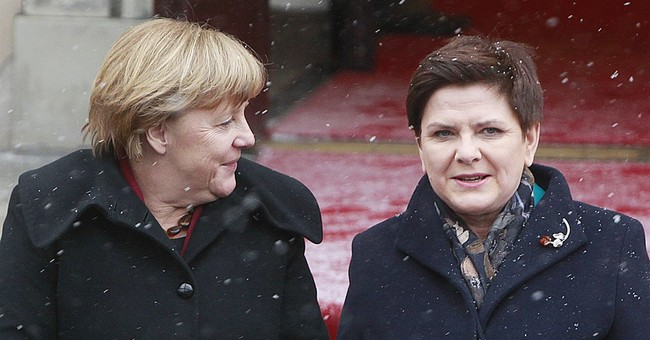 German, Polish leaders highlight ties, points of contention