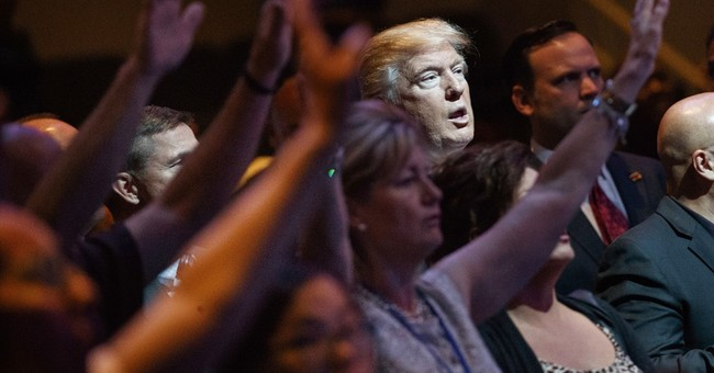 Trump's church politics idea has wide reach, beyond GOP base