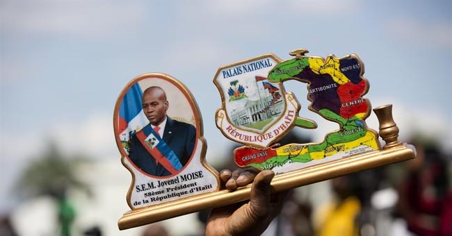 Jovenel Moise sworn in as Haiti's new president