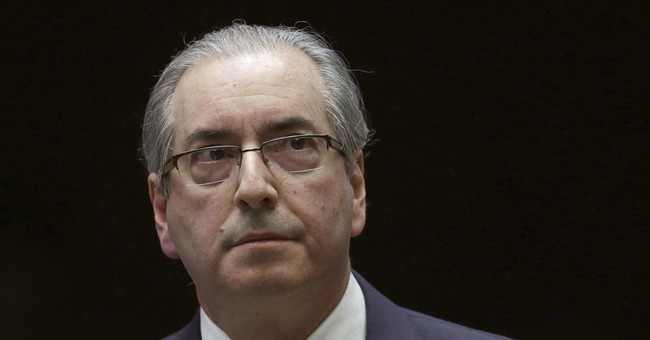 Brazil's jailed ex-speaker submits evidence of aneurism