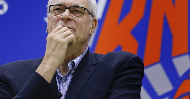 Knicks' Phil Jackson takes dig at Carmelo Anthony in tweet