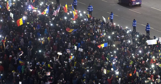 The Latest: Romanian leader: confidence vote wasn't needed