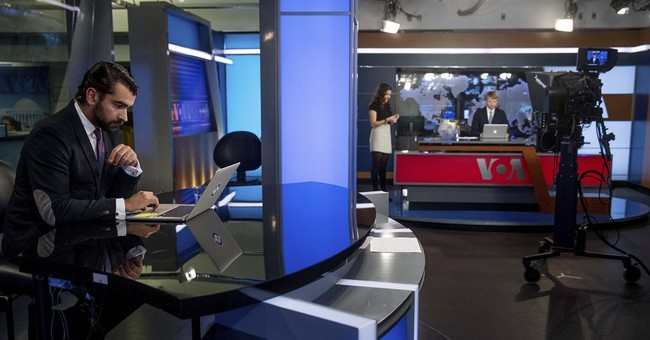 US-funded news channel in Russian offers Kremlin alternative