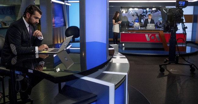 US-funded news channel in Russian offers Kremlin alternative