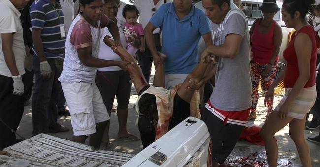 Gunmen slay 6 vendors at pop-up market in Mexico's Acapulco